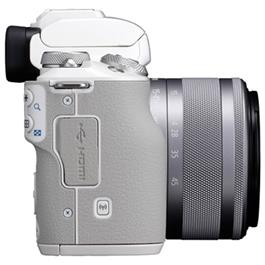 Canon EOS M50 Body With EF-M 15-45mm IS STM Lens Kit - White Thumbnail Image 4